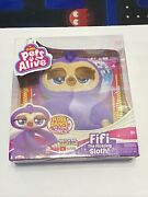 New Pets Alive Fifi The Flossing Sloth Battery-powered Robotic Toy By Zuru.