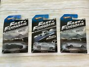Hot Wheels Fast And Furious Fast Five And Ff1