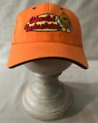 Flexible Fit World Industries Men's Baseball Cap Hat, Fitted Orange, One Size