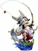 Quesq Made In Abyss Nanachi Demonfish Fishing Figure F/s From Japan