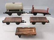 G Scale Assorted Flat Cars [5]
