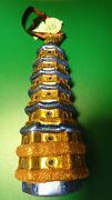 Waterford Holiday Heirlooms Towering Pagoda Ornament 2004 Made In Poland