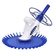 Topbuy Automatic Pool Cleaner Swimming Pool Vacuum Cleaner Inground Above Ground