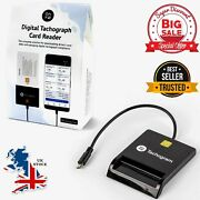 Tachograph Card Reader Read Download Track Analyse Driver Digital Data For Phone