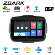 9 Android 10.0 Car Gps Navi Auto Stereo Radio Player For Jeep Renegade 2015-18