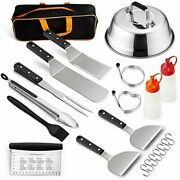 Blackstone Grill Accessories Set 10 Pcs Griddle Barbecue Tools Kit- Outdoor Bbq