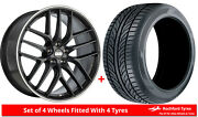Alloy Wheels And Tyres Wider Rears 19 Bbs Cc-r Cadillac Cts [mk3]