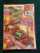 Christmas Cards Lot Of 8 Boxed Paper Holiday Brand New Fantus 160 Cards 88.00