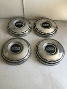 1967-1972 Ford F100 1/2 Ton Truck Factory Stainless Dog Dish Hubcaps Van 68-74
