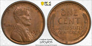 1909 S Vdb 1c Lincoln Wheat Cent Pcgs Ms 63 Bn Uncirculated Key Date Cert9876