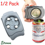 Topless Can Opener Beer Lid Manual Opener Easy Safe Smooth Edge Kitchen Bar Tool