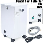 Dental Lab Dust Collector Vacuum Cleaner Portable Dust Removal Machine 110v 800w