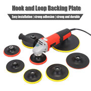Backer Pad Hook And Loop Backing Plate For Buffing Pads Polishing Sanding Discs