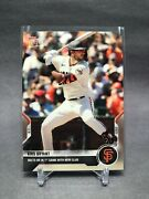 Kris Bryant 1st Game As A Sf Giant Hr - Topps Now Card 599