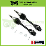 Pair Of 2 Front Lh And Rh Cv Axle For Polaris Sportsman 1380153 1380215 2200960