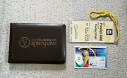 Fifa World Cup 2002 Final Stub, Pass, Limited Memorial Ticket Case
