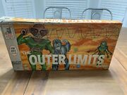 The Outer Limits Monster Board Game Milton Bradley Not Complete Usa 1964 Vintage
