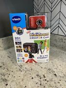 Vtech - Kidizoomandreg Creator Cam - Red Brand New Sealed Ready To Ship