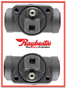2 Drum Brake Wheel Cylinders For Raybestos Rear Replace 18029229