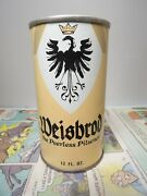 Weisbrod Pilsener Pull Tab Empty Beer Can 134-8 Old Dutch Brewing Co.