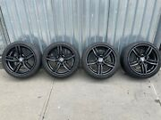 Full Set 2011-2017 Bmw 5-series 19x8.5 Oem Front Rim With Tires 71414 7842652