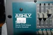Ashly Gqx Series Stereo Third Octave Graphic Equalizer Gqx-3102