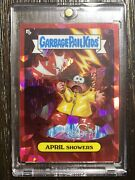 Garbage Pail Kids Sapphire Red Parallel 🔥 April Showers 🔥 Number 3/5