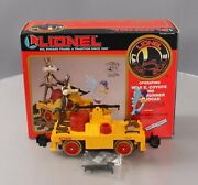Lionel 8-87208 Wile E. Coyote And Road Runner Handcar Ln/box
