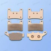 Brand New Motorcycle Front Rear Metal Brake Pads Fit For Kawasaki Z900/rs 2018