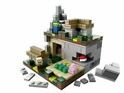 Lego Minecraft Micro World 21105 The Village Micromob Zombie Villager Pig 10+