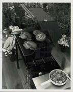 Press Photo Two Whole Chickens Grilled In Genesis Gas Barbeque Grill From Weber