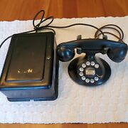 Western Electric Model 202 Telephone With 634ba Ringer Subset