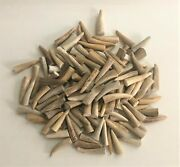One Hundred Fifty 1 3/4 Deer Antler Tine Tips Arts, Crafts Jewelry - Bag 1134