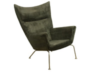 Carl Hansen And Son Wing Chair Dark Green - Used