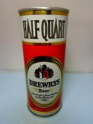 16oz Drewrys Straight Steel Pull Tab Beer Can 149-3 So. Bend, Indiana