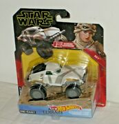 New Hot Wheels Star Wars All Terrain Character Cars Rey Die Cast Free Shipping