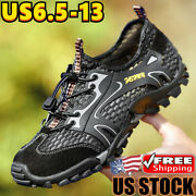 Men's Non-slip Hiking Sports Shoes Athletic Outdoor Casual Sneakers Plus Size 13