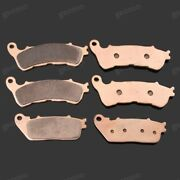Brand New Motorcycle Front Rear Metal Brake Pads Fit For Honda Cb1000r 2009-2015