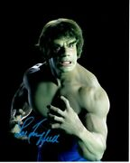 Lou Ferrigno Signed Autographed 8x10 The Incredible Hulk Photo