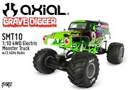 Axial Smt10 Grave Digger Rtr 1/10 4wd Monster Truck W/2.4ghz Radio Axi03019