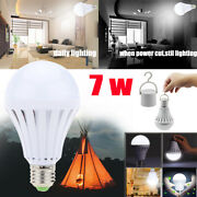 Rechargeable Led Light Bulbs With Battery Backup Emergency For Outage Daylight