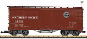 Lgb 48672 G Southern Pacific Wood Boxcar - Ready To Run 2
