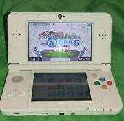 Nintendo New 3ds Model With Carger And 32 Microsd Card And 15+ Games
