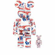 Medicam Toy Medicom Toys Hobby Accessory Gift Present Andy Warhol Brillo Be