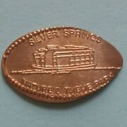 Glass Bottom Boat Silver Springs Natureand039s Theme Park Fl Elongated Copper Penny