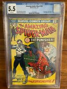 Amazing Spiderman 129 Cgc 5.5 White Pages First Appearance 1974