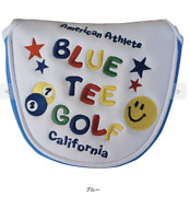 Blue Tee Golf California Smile And Pinball Putter Cover New Blue Tee Golf D37