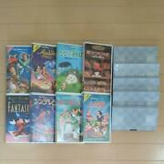 Ghibli Disney Masterpiece Videotape And Vhs 5 New Unused Videotapes Shipping Only