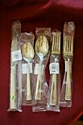 Waterford Lismore Nouveau 5 Piece Place Setting 18/10 Stainless Flatware Unused