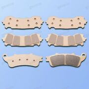 New Front Rear Metal Brake Pads Fit For Honda Goldwing 1800 Gl 1800 2018-2020
